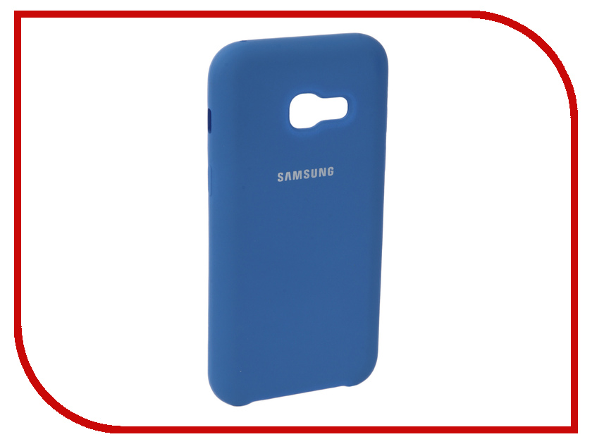 Аксессуар Чехол для Samsung Galaxy A3 2017 Innovation Silicone Blue 10635 аксессуар чехол для samsung galaxy a3 2017 innovation silicone yellow 10636