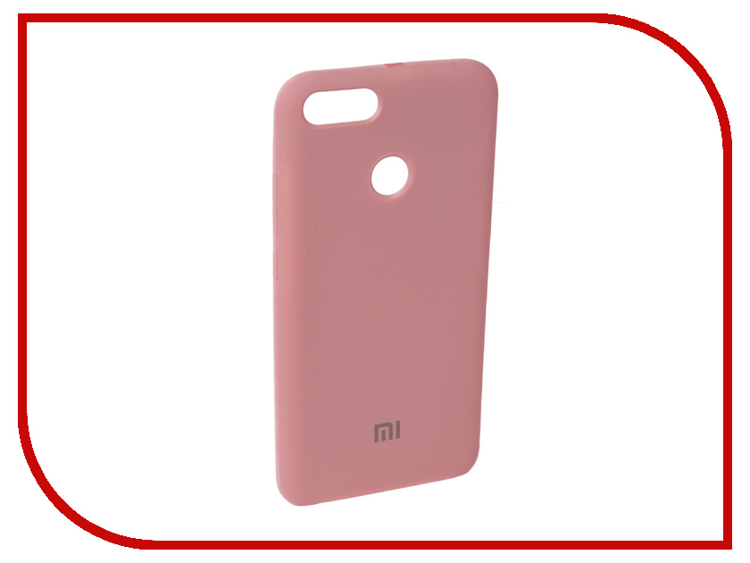 Аксессуар Чехол для Xiaomi Mi A1 Innovation Silicone Pink 11896 аксессуар чехол для xiaomi mi5x mi a1 innovation book silver 11952