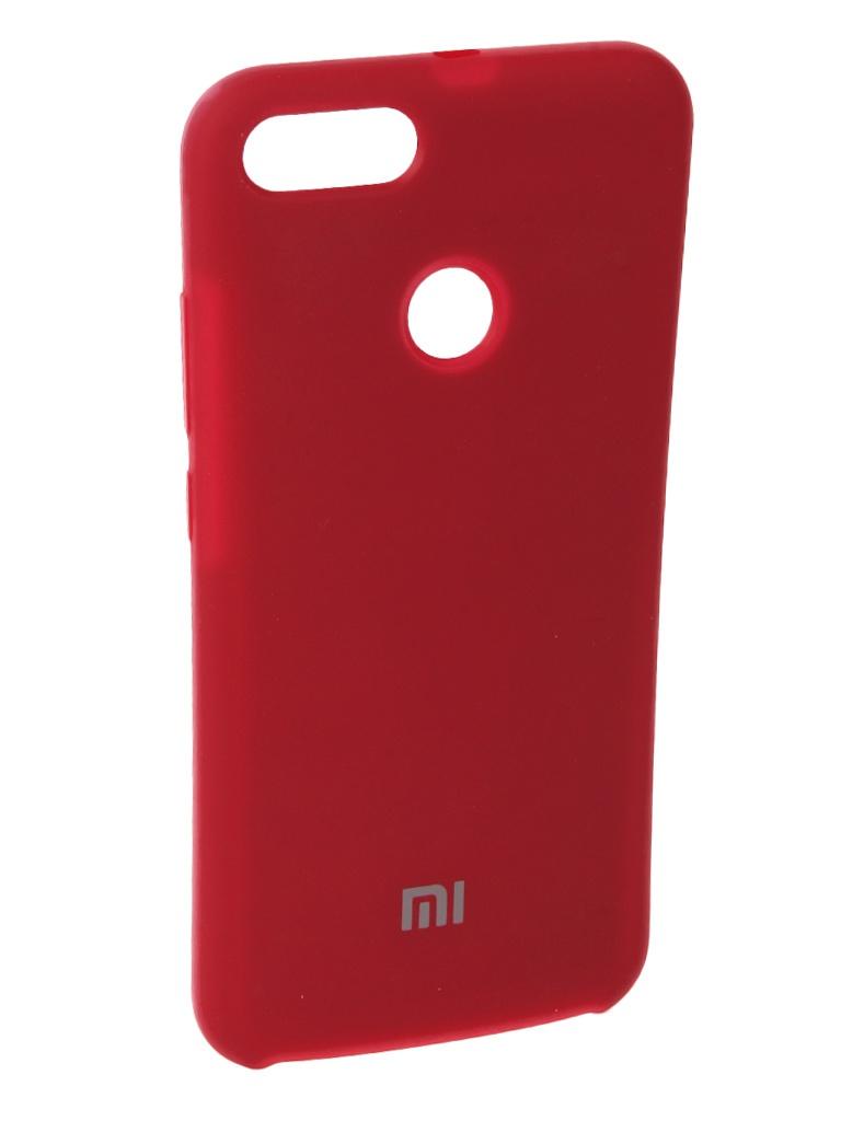 Аксессуар Чехол Innovation для Xiaomi Mi A1 Silicone Red 11894 пленка защитная lamel гибридное стекло diamond hybridglass ea kit huawei p20
