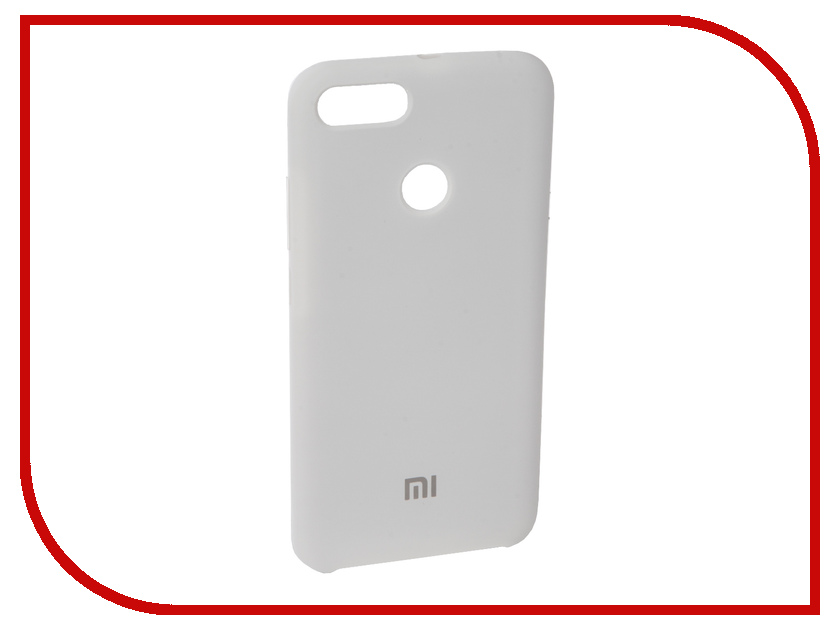 Аксессуар Чехол для Xiaomi Mi A1 Innovation Silicone White 11893 аксессуар чехол для xiaomi mi5x mi a1 innovation book silver 11952