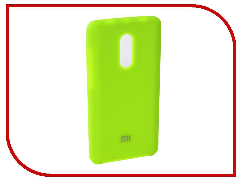 Аксессуар Чехол для Xiaomi Redmi Note 4X Innovation Silicone Yellow 10724 аксессуар чехол xiaomi redmi note 4x innovation ракушка silicone gold 11101