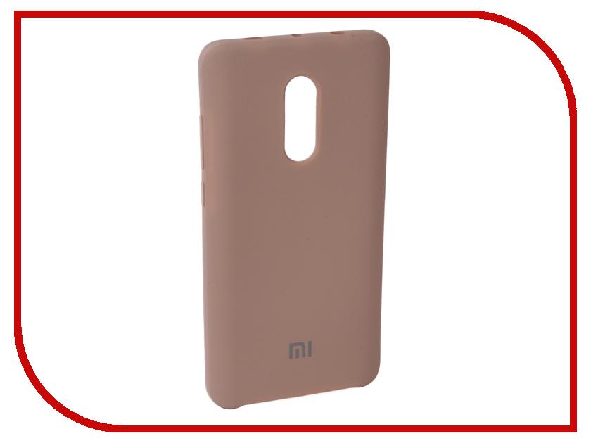 Аксессуар Чехол для Xiaomi Redmi Note 4X Innovation Silicone Pink 10728