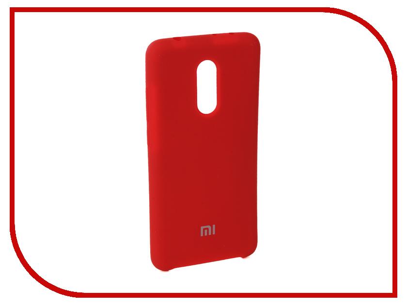 Аксессуар Чехол для Xiaomi Redmi 5 Innovation Silicone Red 11900 knowledge and innovation dilemmas