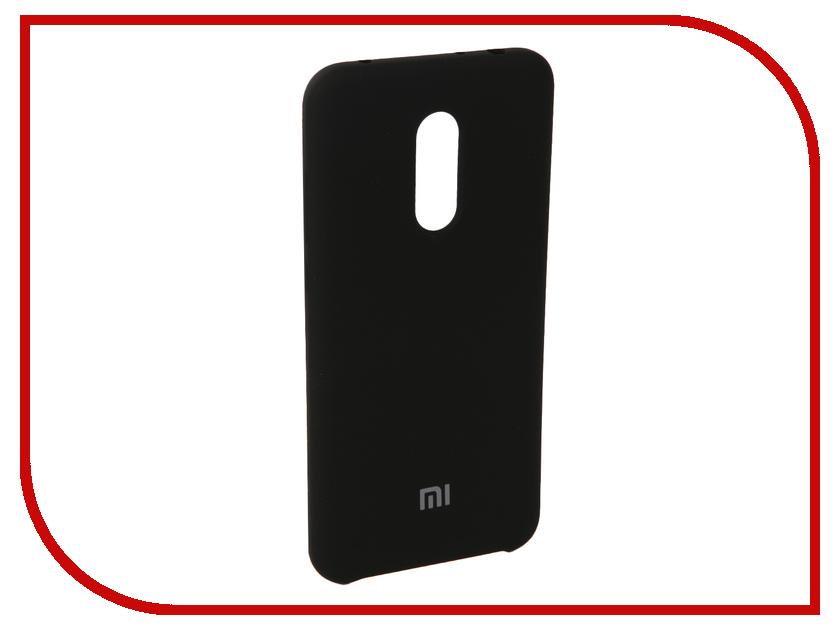 Аксессуар Чехол для Xiaomi Redmi 5 Plus Innovation Silicone Black 11902 аксессуар чехол книга для xiaomi redmi 5 plus redmi note 5 innovation book silicone black 11445