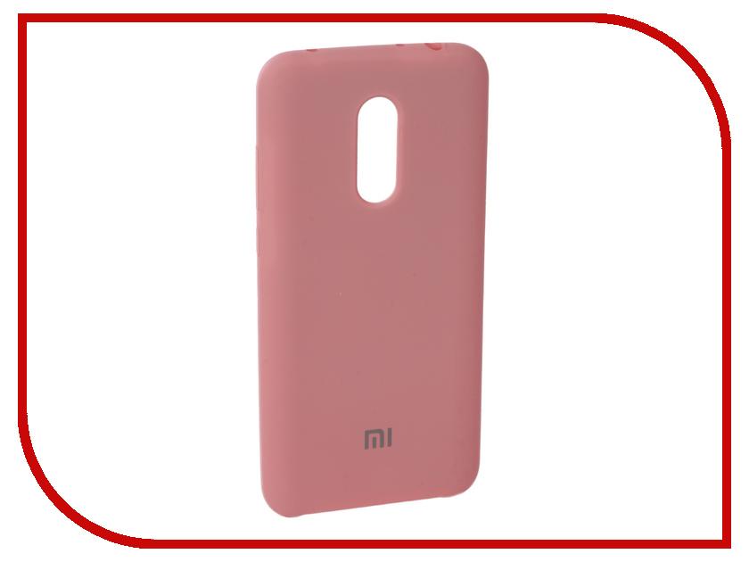 Аксессуар Чехол для Xiaomi Redmi 5 Plus Innovation Silicone Pink 11906 аксессуар чехол книга для xiaomi redmi 5 plus redmi note 5 innovation book silicone black 11445