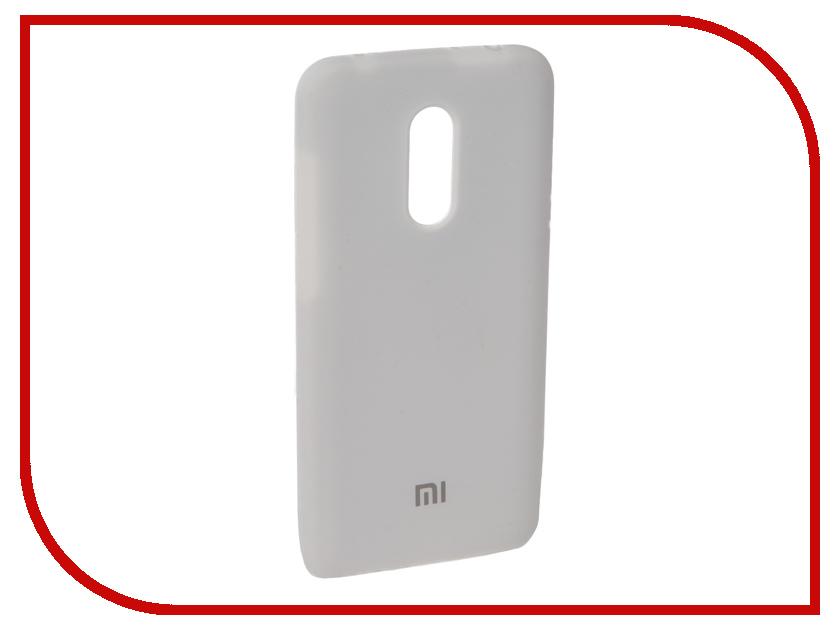 Аксессуар Чехол для Xiaomi Redmi 5 Plus Innovation Silicone White 11903 аксессуар чехол книга для xiaomi redmi 5 plus redmi note 5 innovation book silicone black 11445