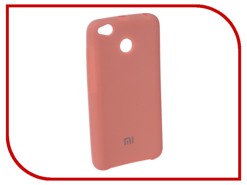 Аксессуар Чехол для Xiaomi Redmi 4X Innovation Silicone Pink 10720 redmi 4x 16gb pink