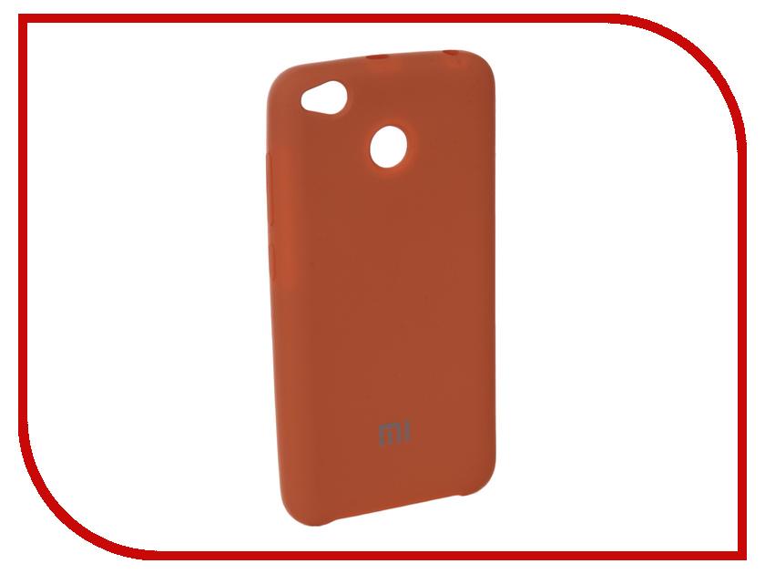 Аксессуар Чехол для Xiaomi Redmi 4X Innovation Silicone Coral 10718 аксессуар чехол для xiaomi 4x ipapai животные единорог 120507 x4x
