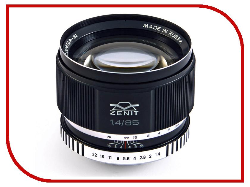 Zakazat.ru: Объектив Зенит МС Зенитар-1Н Nikon 85 mm F/1.4