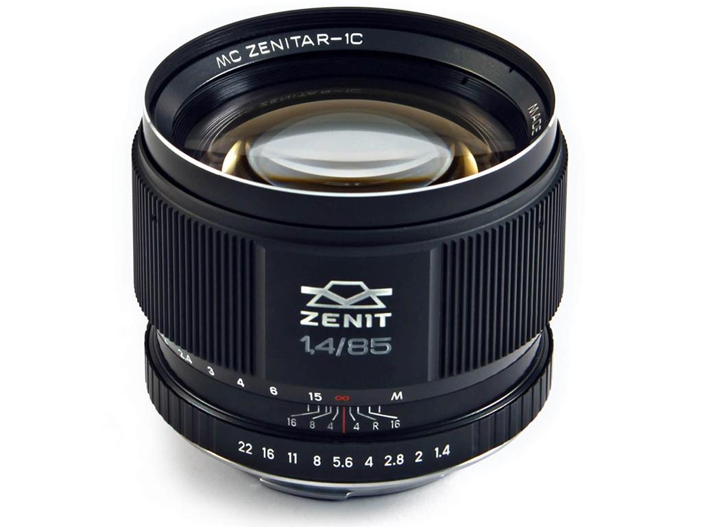лучшая цена Объектив Зенит МС Зенитар-1С Canon 85 mm F/1.4