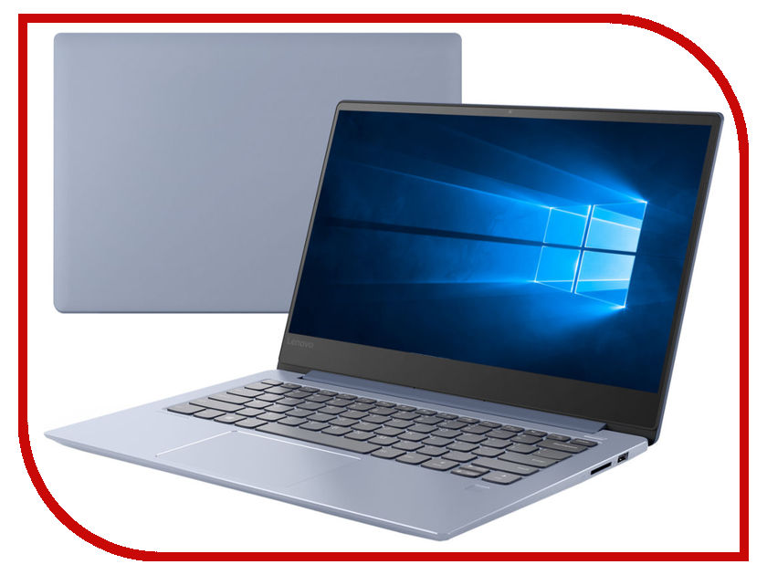 Ноутбук Lenovo IdeaPad 530S-14IKB 81EU00BJRU Blue (Intel Core i7-8550U 1.8 GHz/16384Mb/256Gb SSD/No ODD/Intel HD Graphics/Wi-Fi/Bluetooth/Cam/14.0/1920x1080/Windows 10 64-bit) моноблок lenovo ideacentre aio 520 24iku ms silver f0d2003urk intel core i5 7200u 2 5 ghz 8192mb 1000gb dvd rw intel hd graphics wi fi bluetooth cam 23 8 1920x1080 dos