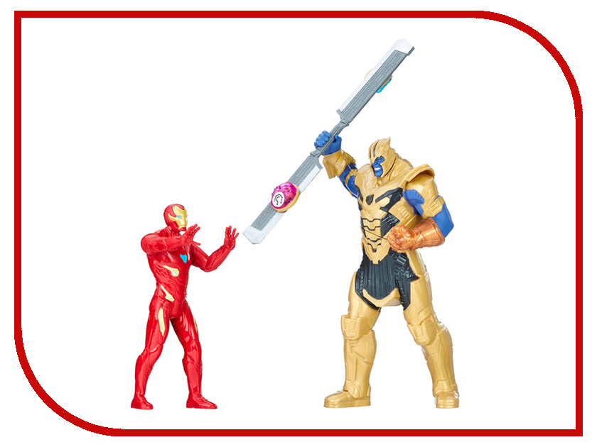 Игрушка Hasbro Avengers Movie Танос и Железный Человек E0559