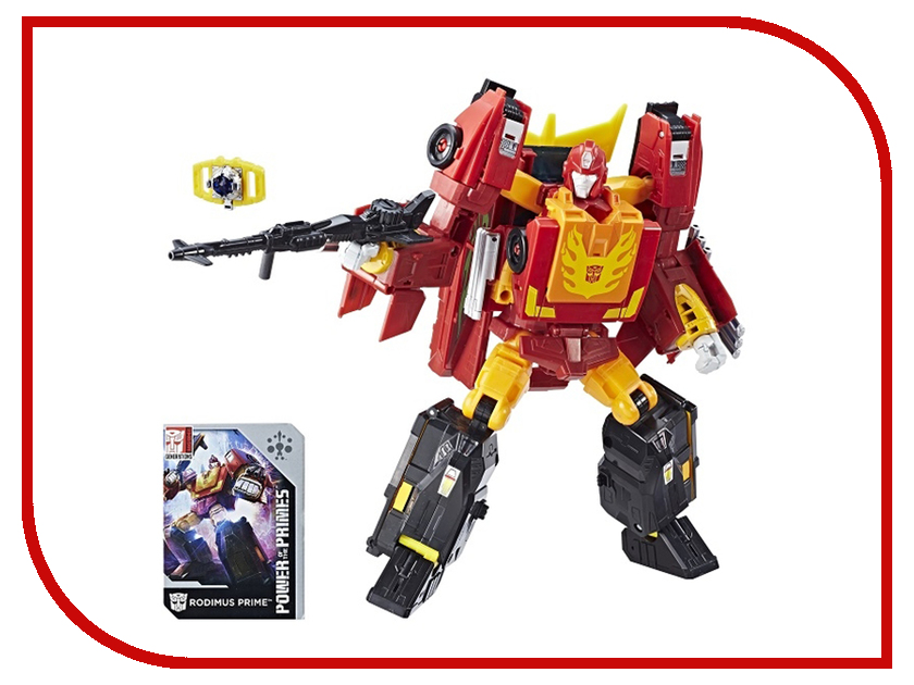 Игрушка Hasbro Transformers Дженерейшнз Лидер E0601 игрушка трансформер дженерейшнз делюкс
