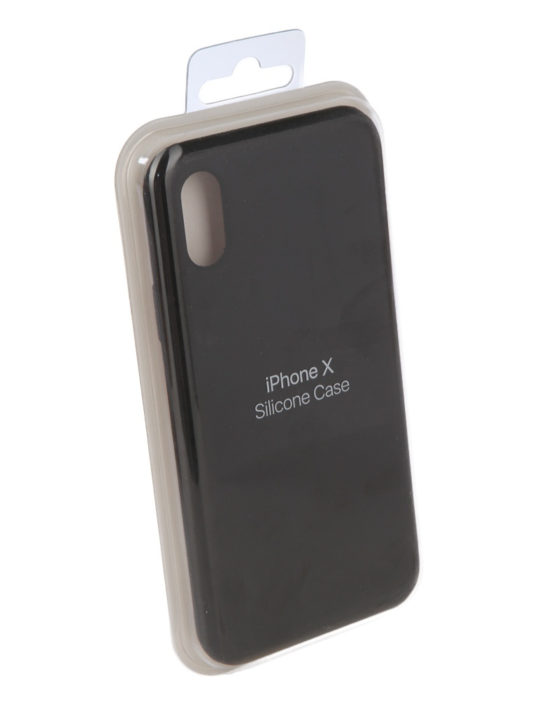 Чехол Innovation для APPLE iPhone X Silicone Black 10305