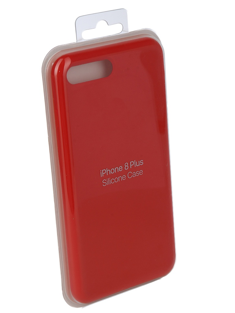 Чехол Innovation для APPLE iPhone 7 Plus / 8 Silicone Case Bright Red 10628