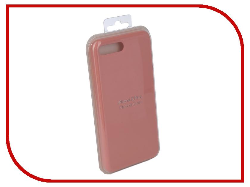Аксессуар Чехол Innovation Silicone Case для APPLE iPhone 7 Plus/8 Plus Dark Pink 10626 аксессуар чехол innovation boostar для apple iphone 7 plus 8 plus black 11435