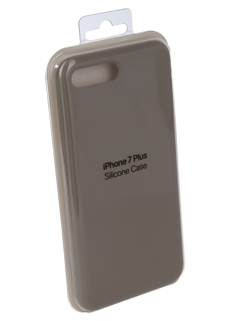 Аксессуар Чехол Innovation для APPLE iPhone 7 Plus / 8 Plus Silicone Case Grey 10278 цена
