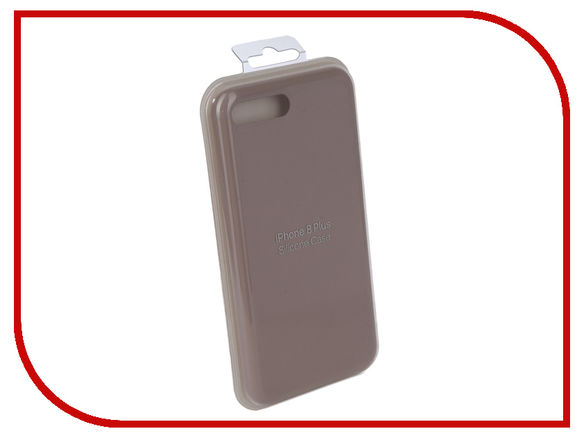 Аксессуар Чехол Innovation Silicone Case для APPLE iPhone 7 Plus/8 Plus Light Grey 10272 аксессуар чехол innovation jeans для apple iphone 7 8 grey 10777