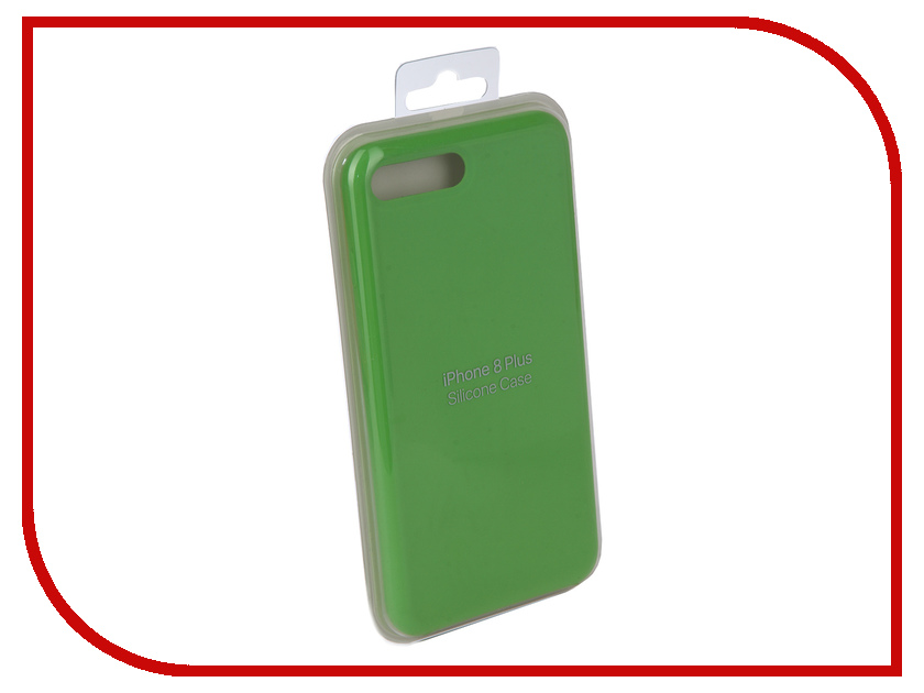 Аксессуар Чехол для APPLE iPhone 7 Plus / 8 Plus Innovation Silicone Case Light Green 10270 protective silicone pc back case armor for iphone 6 4 7 green black