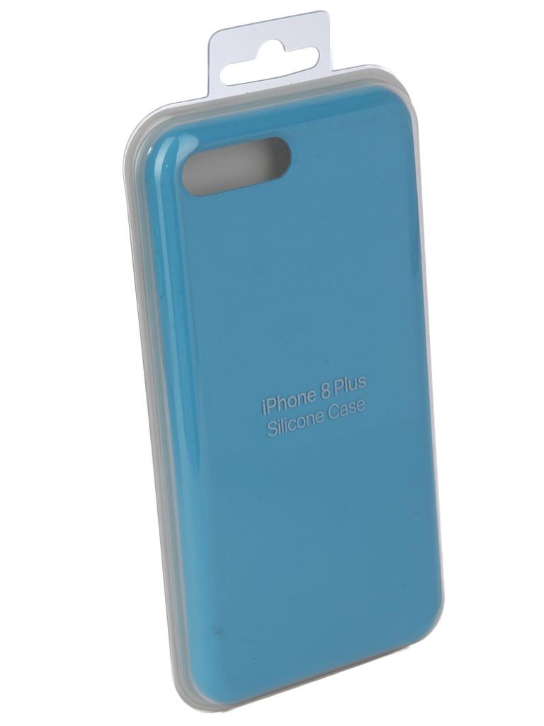Чехол для APPLE iPhone 7 Plus / 8 Innovation Silicone Case Light Blue 10271