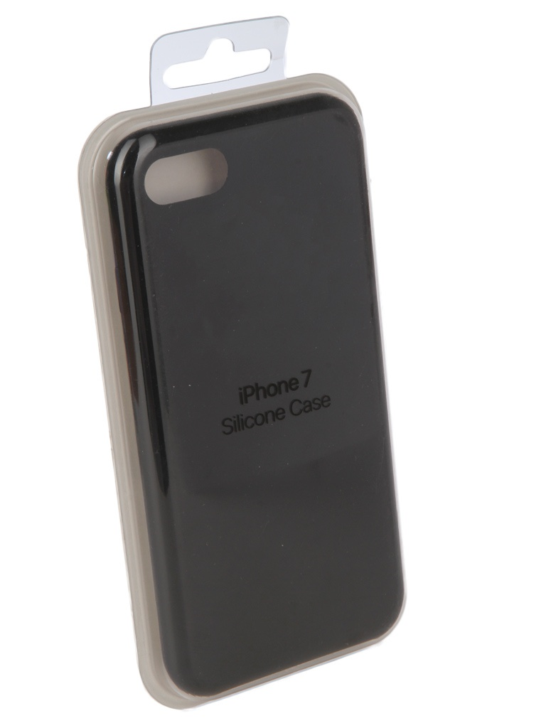 Аксессуар Чехол Innovation для APPLE iPhone 7 / 8 Silicone Case Black 10294