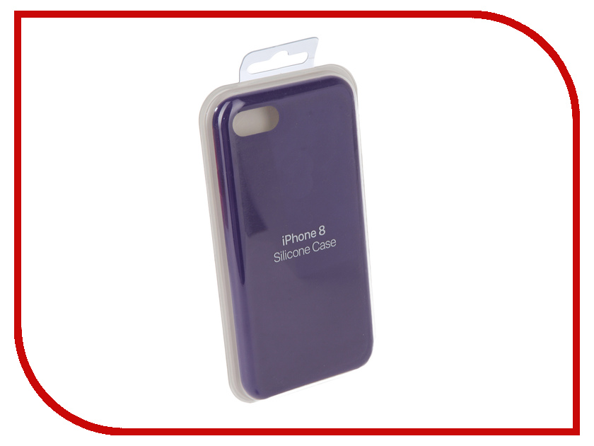 Аксессуар Чехол для APPLE iPhone 7 / 8 Innovation Silicone Case Purple 10293