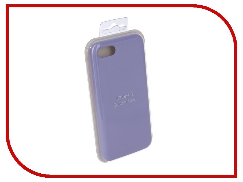Аксессуар Чехол для APPLE iPhone 7 / 8 Innovation Silicone Case Lilac 10284 чехол для apple iphone 8 7 silicone case white