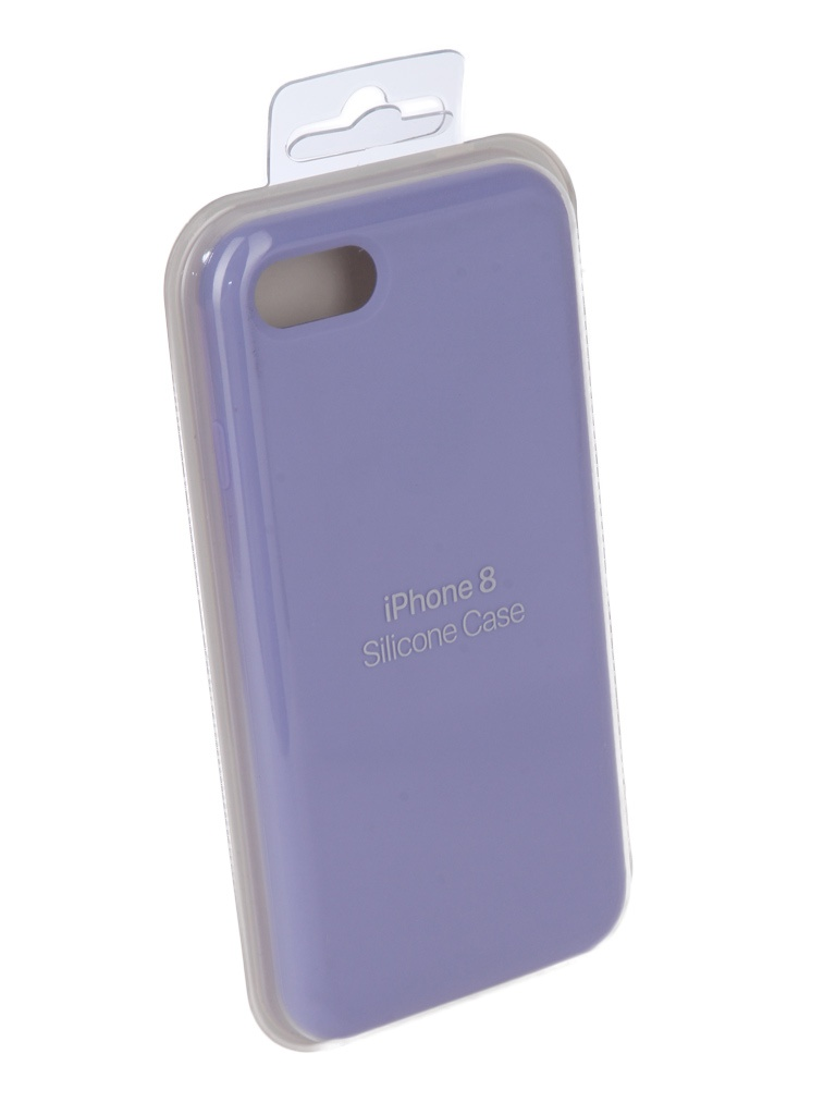 Аксессуар Чехол Innovation для APPLE iPhone 7 / 8 Silicone Case Lilac 10284 аксессуар чехол для apple iphone x innovation silicone case dark pink 10632