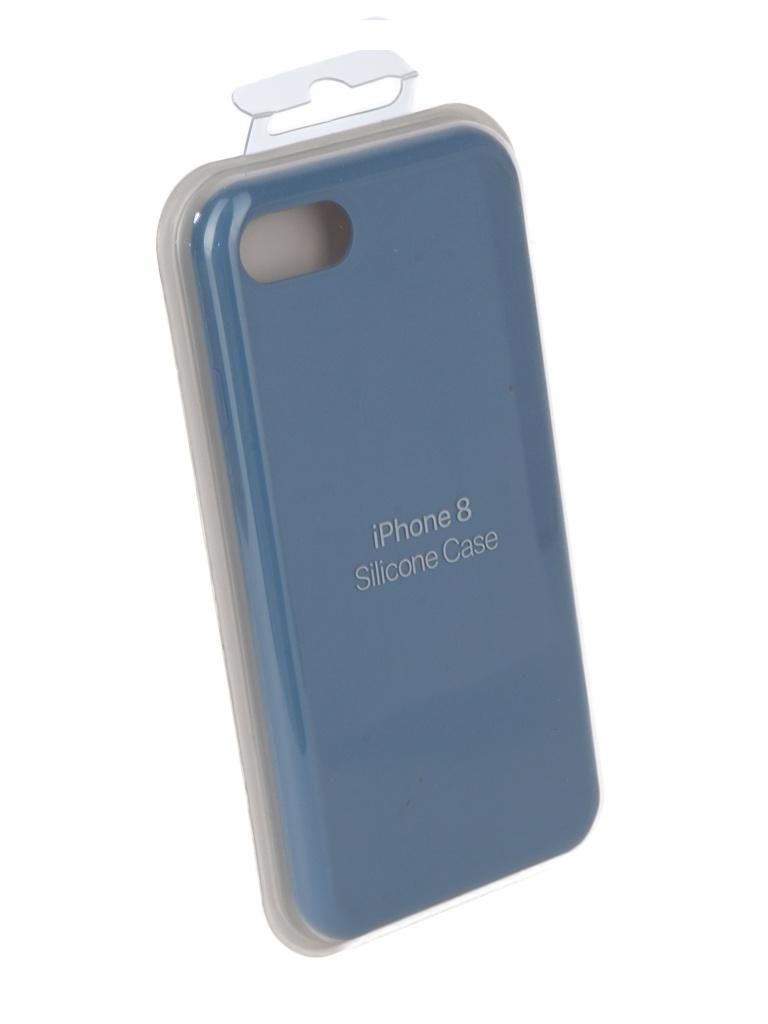 Чехол Innovation для APPLE iPhone 7 / 8 Silicone Light Blue 10281