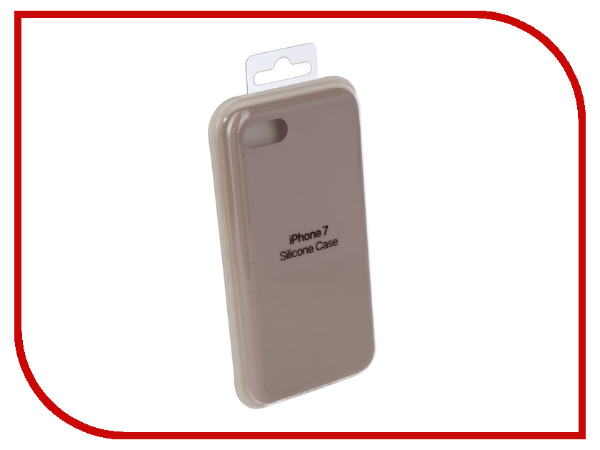 Аксессуар Чехол Innovation Silicone Case для APPLE iPhone 7/8 Light Grey 10280 аксессуар чехол innovation jeans для apple iphone 7 8 grey 10777