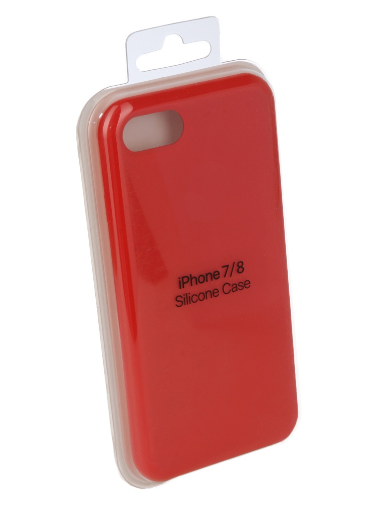 Чехол Innovation для APPLE iPhone 7 / 8 Silicone Red 10288