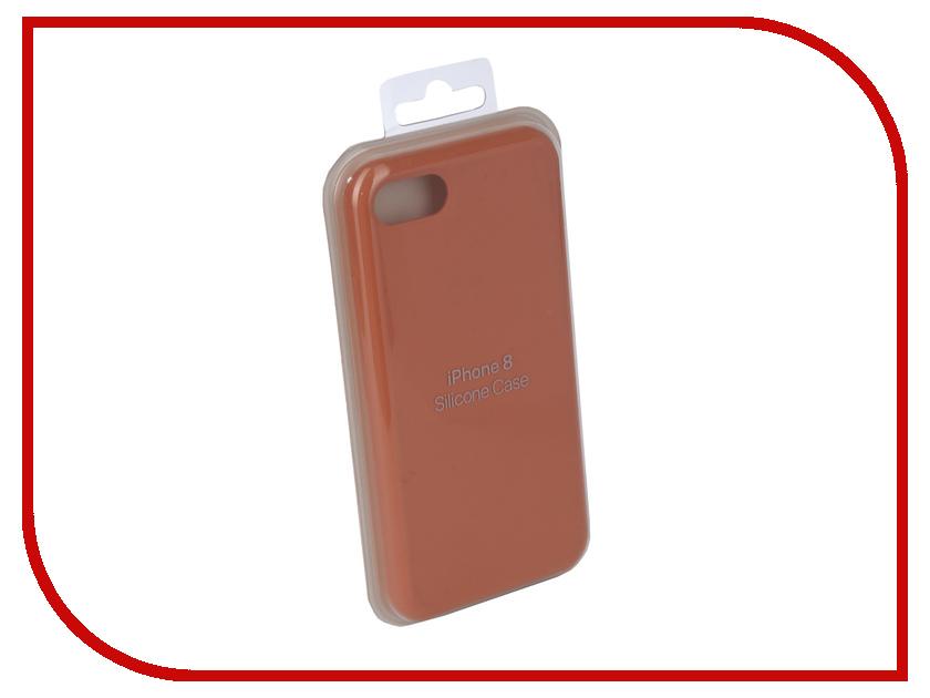 Аксессуар Чехол Innovation Silicone Case для APPLE iPhone 7/8 Coral 10287 аксессуар чехол innovation jeans для apple iphone 7 8 beige 10773