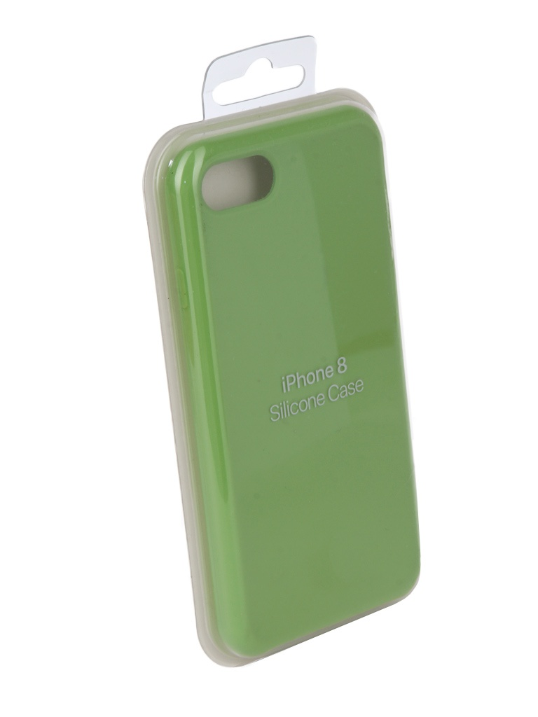 Чехол Innovation для APPLE iPhone 7 / 8 Silicone Case Green 10286