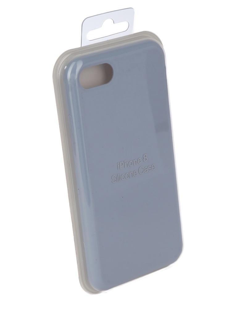 Чехол для APPLE iPhone 7 / 8 Innovation Silicone Light Blue 10283