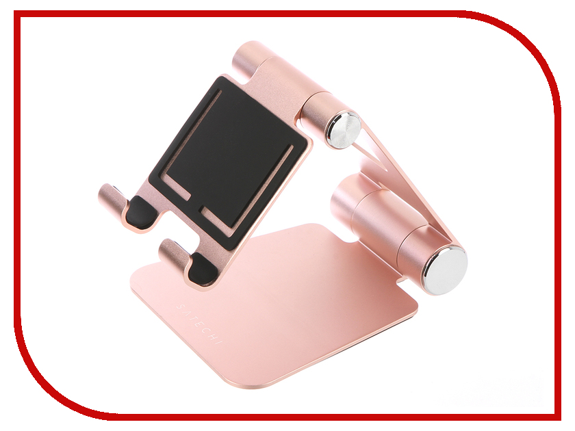 Аксессуар Подставка Satechi R1 Aluminum Multi-Angle ST-R1R Rose Gold зарядное устройство satechi wireless charging pad для iphone 8 8 plus x rose gold st wcpr