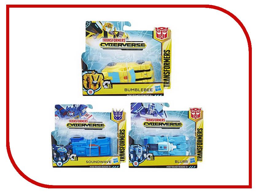 Игрушка Hasbro Transformers Кибервселенная Уан Степ E3522 трансформер кибервсел уан степ transformers e3522