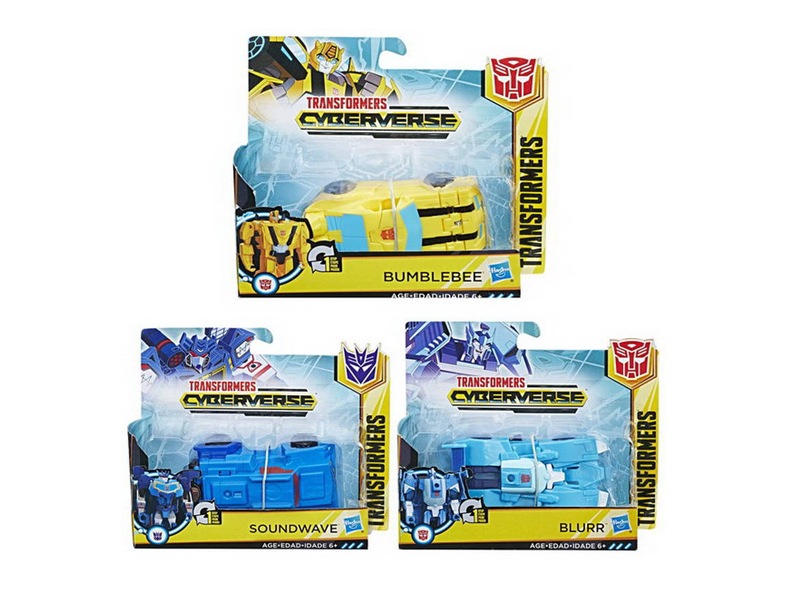 Игрушка Hasbro Transformers Кибервселенная Уан Степ E3522 недорого