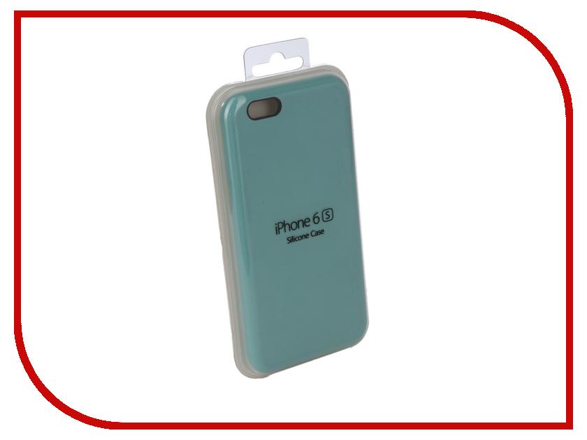 Аксессуар Чехол Innovation Silicone Case для APPLE iPhone 6/6S Turquoise 10256 аксессуар чехол innovation silicone case для apple iphone 6 6s plus turquoise 10244