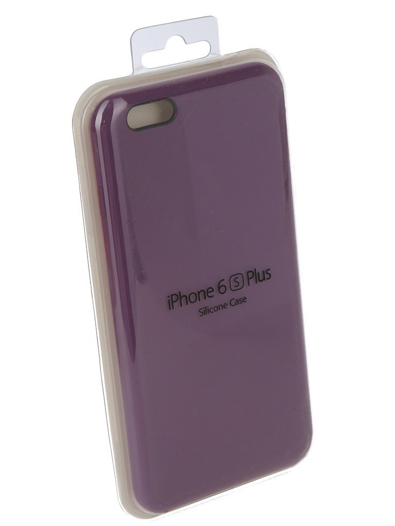 Аксессуар Чехол Innovation для APPLE iPhone 6/6S Plus Silicone Case Purple 10619