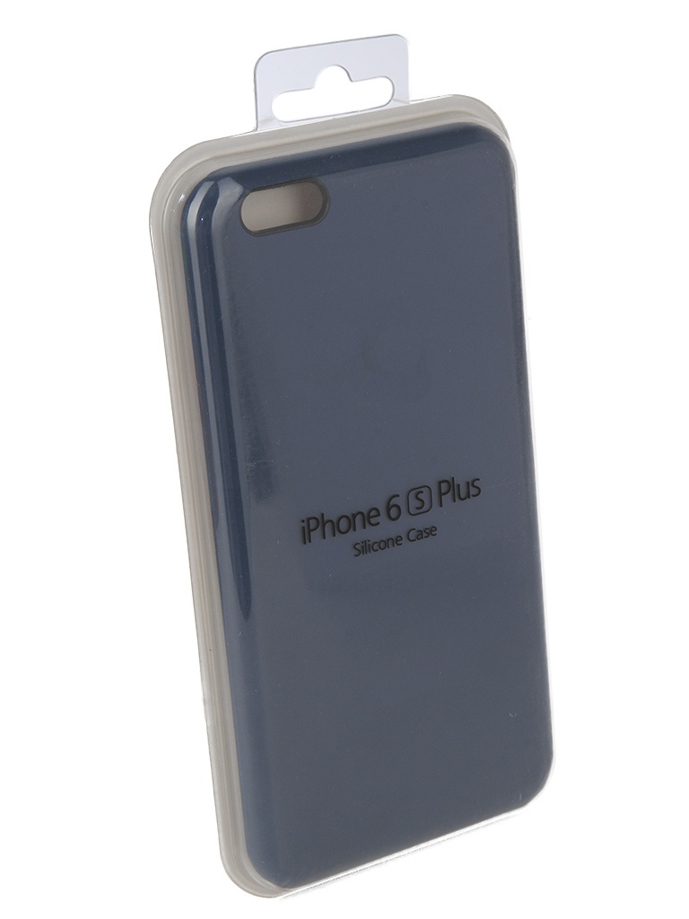Аксессуар Чехол Innovation для APPLE iPhone 6 Plus / 6S Silicone Case Blue 10622