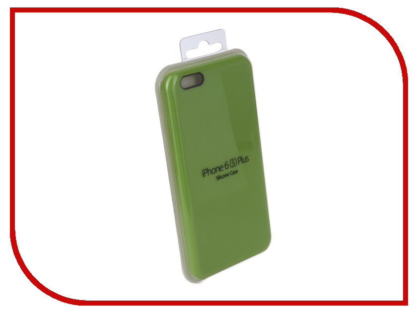 Аксессуар Чехол для APPLE iPhone 6 Plus / 6S Plus Innovation Silicone Case Light Green 10243