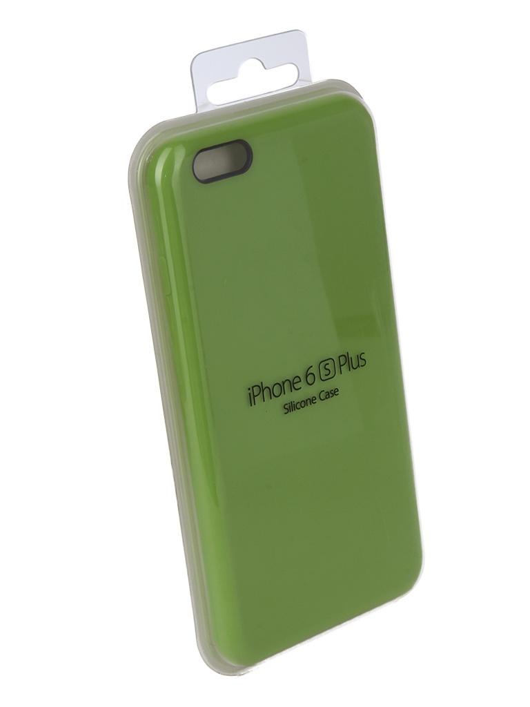 Аксессуар Чехол Innovation для APPLE iPhone 6 Plus / 6S Plus Silicone Case Light Green 10243 аксессуар чехол ipapai для iphone 6 plus ассорти морской