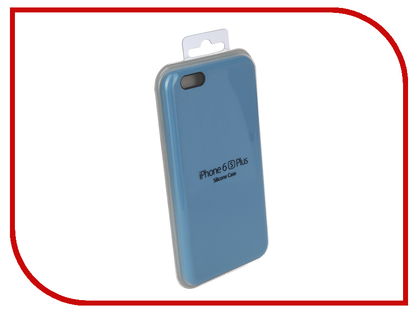 Аксессуар Чехол для APPLE iPhone 6 Plus / 6S Plus Innovation Silicone Case Light Blue 10245 фотонабор olloclip studio для apple iphone 6 6s plus black oc 0000169 eu