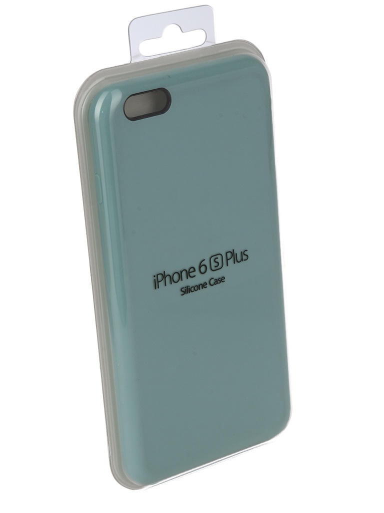 Аксессуар Чехол Innovation для APPLE iPhone 6/6S Plus Silicone Case Turquoise 10244 аксессуар чехол книжка momax elite case для iphone 6 plus fdapip6lbd red