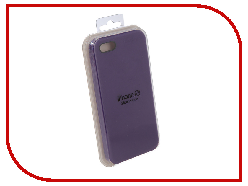 Аксессуар Чехол Innovation Silicone Case для APPLE iPhone 5G/5S/5SE Lilac 10614 stylish protective silicone back case for iphone 5c grey