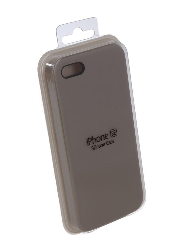 Аксессуар Чехол Innovation для APPLE iPhone 5G / 5S / 5SE Silicone Case Grey 10241 цены онлайн