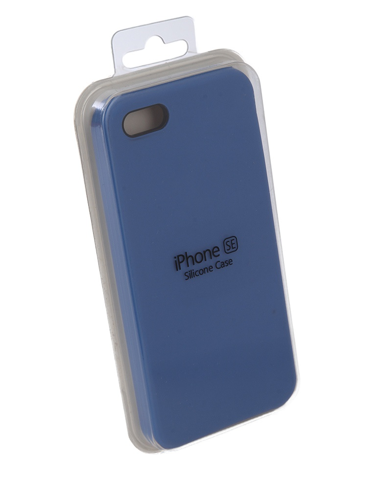 Чехол Innovation для APPLE iPhone 5G / 5S 5SE Silicone Case Light Blue 10612