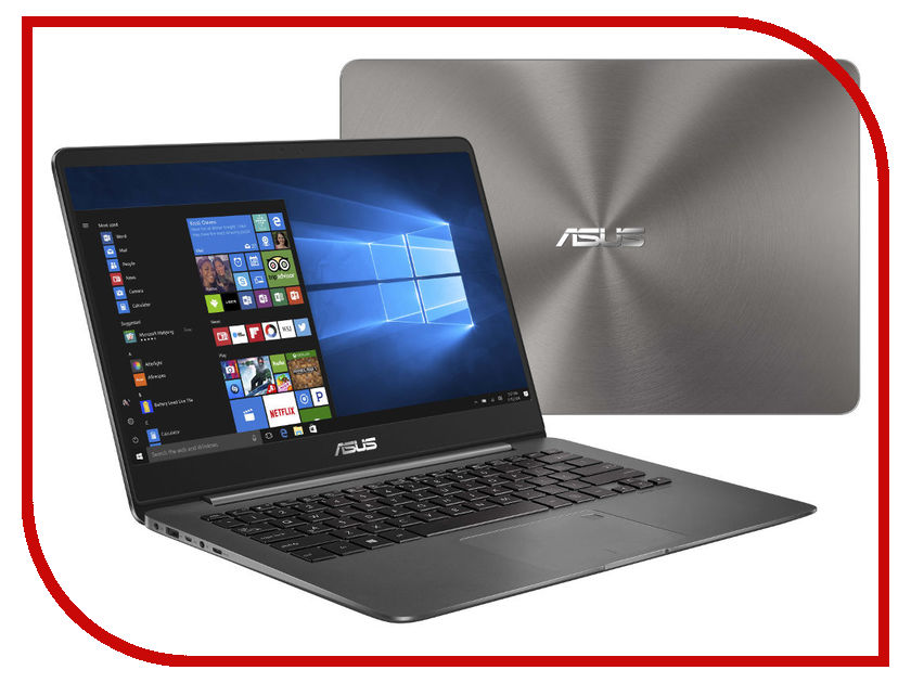 Ноутбук ASUS UX3400UA 90NB0EC1-M13030 Grey Metal (Intel Core i7-7500U 2.7 GHz/16384Mb/512Gb SSD/No ODD/Intel HD Graphics/Wi-Fi/Cam/14.0/1920x1080/Windows 10 64-bit)