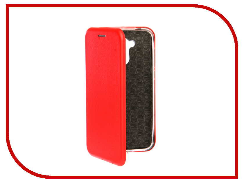 Аксессуар Чехол-книга для Huawei Honor 6A Innovation Book Silicone Red 12189 аксессуар чехол книга для huawei p9 lite innovation book silicone black 11509