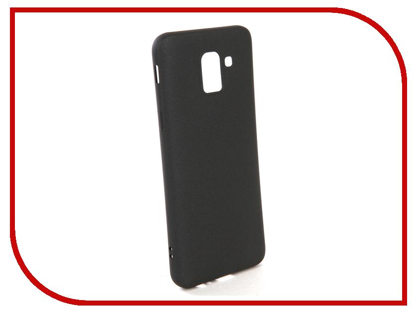Аксессуар Чехол для Samsung Galaxy J6 2018 X-Level Guardian Black 2828-160 сушилка для белья frau hellen level 160 l 160